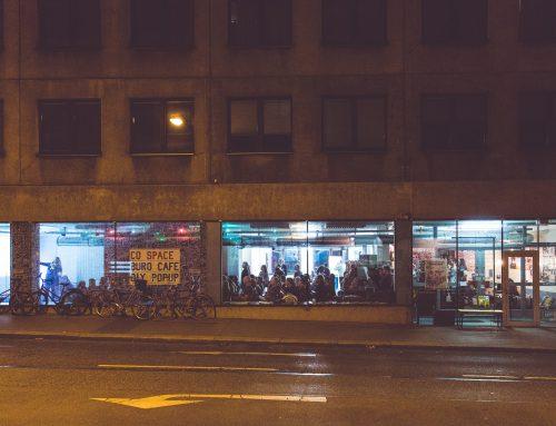 An einem Dienstagabend in Wien zum Thema Airbnb